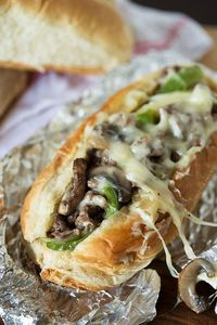 Cheesesteak Sandwiches. #food