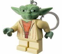 Lego Yoda Star Wars Keylight Size matters not.' The Jedi Master, Yoda, is now available as a LED Key light to defend the galaxy from the dark side! http://www.comparestoreprices.co.uk//lego-yoda-star-wars-keylight.asp