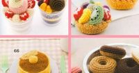 Ebook crochet food sweets PDF pattern