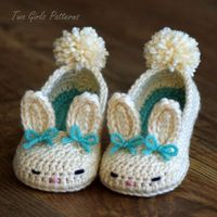 Toddler Bunny Slippers: pattern for sale