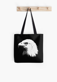 Bald Eagle in Black and White