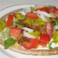 An easy and delicious way to recreate your favorite Greek restaurant dish at home. This Mediterranean-flavored recipe can be served buffet-style allowing your guests to make their own.