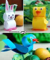 Easter Crafts (not english, but you can figured it out I think:))