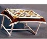Typically, quilt frames are made out of wood, but a PVC pipe quilt frame is an ideal alternative. PVC pipe is sturdy and lightweight so if you need to move it a