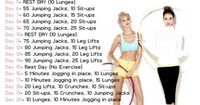Fitness. Level 1. Challenge to do this list. - Click image to find more Health & Fitness Pinterest pins