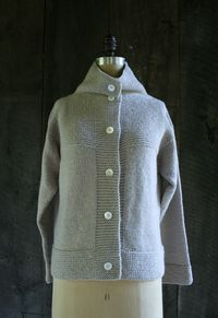 Laura's Loop: The Purl Soho Cardigan Coat +Vest - The Purl Bee - Knitting Crochet Sewing Embroidery Crafts Patterns and Ideas!