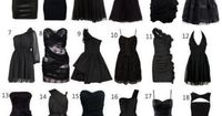 Every girl needs a little black dress, which would you pick?