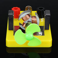 DIY Electromagnetis Experiment Model DC Electric Circuit Direct-current Motor Model Science Toy