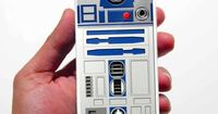 iPhone 4 Case, Star Wars R2D2 iPhone 4 Case or iPhone 4s Case Cover (Black / white Color Case)Silicone Rubber case