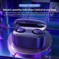 Bakeey G5S TWS bluetooth 5.0 Earphone Lossless CVC8.0 Noise Cancelling Heavy Bass Smart Touch 2000mAh Headphone with Mic