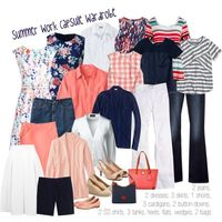 A fashion look from May 2016 by kristin727 featuring Lands' End, J.Crew, Boden, Gap, Madewell, Miss Selfridge and Dooney & Bourke