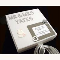 Personalised Wedding Memory Box Silver Standard A great wedding gift this wedding memory box can be personalised with the couples titles and surnam http://www.comparestoreprices.co.uk/wedding-gifts/personalised-wedding-memory-box-silver-standard.asp