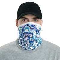 Reusable male face mask / neck gaiter / reusable face shield / headband / bandanna / wristband / neck warmer. $29.93