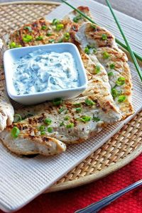 Grilled Sour Cream And Onion Chicken