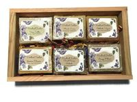 6 Bar Natural Soap Gift Set $15.95