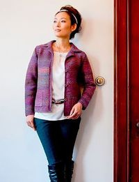 Tailored Crochet Jacket - Pattern <3