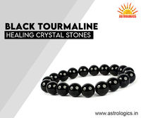 Black Tourmaline Healing Crystal Stones  Black Tourmaline Healing Crystal is a powerful stone for protection against evil energy of all kinds. This is one of the amazing healing crystal stones that encourages positive attitudes, fortune, and happiness, ...