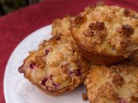Berry Yogurt Breakfast Muffins