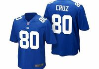 """Nike New York Giants Home Game Jersey - Victor Cruz New York Giants Home GameJersey - Victor CruzTEAM LOYALTY, EVERYDAY COMFORTRep your favorite team and player anytime in the NFL New York Giants Game Jersey, inspired by what they'""""'re wear..."""