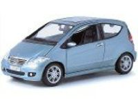 Maisto 1:18th Special Edition - Mercedes Benz A Class (2 door) Model: A ClassMake: Maisto Special EditionScale: 1/18 Die Cast MetalColour: Metallic Light Blue Product Code: MT31694Details: Opening doors, bonnet and boot, Adjustable f (Barcode ...