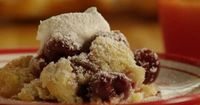 Fresh Cherry Cobbler Allrecipes.com The most amazing cobbler ever! Made it with frozen cherries so yummy!