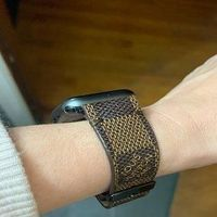 Damier Brown LV Monogram Band for Apple Watch iWatch Series 5, 4, 3, 2, 1 $125.00
