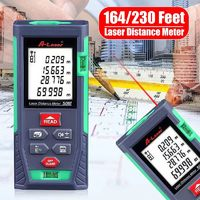 50M/70M Digital Handheld Laser Distance Meter Range Finder Measure