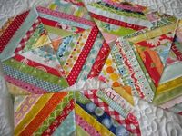 String Quilt Blocks--A Tutorial ~ A Quilting Life