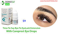 Careprost eye drops is one of the most widely used medicine for the treatment of hypotrichosis and open angle glaucoma. Generic of Careprost is Bimatoprost eye drops. Buy Careprost - Bimatoprost eye drops online in USA - Chemist247Online - https://goo.gl/...