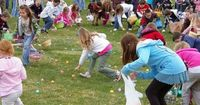 Many Easter traditions, including the name itself and the symbolic use of eggs and rabbits, have pagan origins, but the Easter egg hunt, egg rolling and other h
