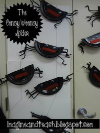 The Eensy Weensy Spider Lesson Plan and Activity for Pre-K and Kindergarten #spider #science #lessonplan #teacher #education #itsybitsyspider