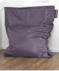 Plain Lazy giant purple bean bag Indoor and outdoor bean bag made from a comfortable and practical nylon material thats not only soft to the touch but resistant to stains. The special easy-clean coating means that just a quick rub wi http://www.comparesto...