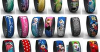 LINK IT LATER Disney World Magic Bands. This listing is for any of the Disney World Magic Bands currently available. Simply use the drop down menu to select the style you would like.