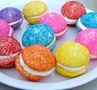From cakes and cookies to popcorn and popsicles, these colorful rainbow desserts are sure to delight your kids, from Food.com.