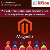 Looking for the best web development company in Chennai to build your ecommerce website? Our team of technically professional developers at Techno Kryon develops your Magento website.