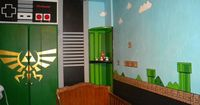 Nintendo Baby Room (awesome...)