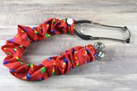 Stethoscope Cover Christmas Holiday - Ornaments $7.99
