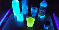Drink ideas to make your party spectacular. Make glowing drinks, fogging drinks, flaming drinks, and Pop Rocks cocktails. Learn how to rim glasses and more.