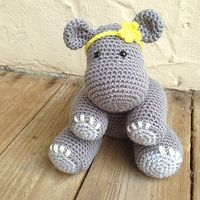 Ravelry: Betty the Hippo pattern by Knots of Rainbows
