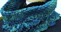 Ravelry: Woven-Look Cowl pattern by Deborah E. Burger