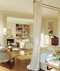 ... master bedroom with sitting area