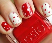 Polka dots for valentines day!
