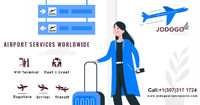 Get airport assistance services as soon as you enter the airport. Visit us : https://www.jodogoairportassist.com/