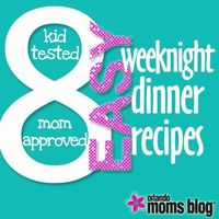 I'm in a group with 400 other busy local running moms, and I asked them to share a few of their favorite recipes -- specifically, recipes that their families love and that are easy to make and clea...