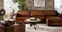 diangelo leather sectional| colliers furniture.