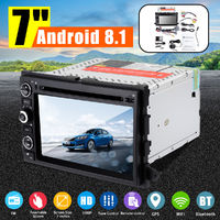 7 Inch Android 8.1 3G 4G Touch Car DVD MP5 Player GPS WiFi Stereo Radio Indash for Ford Focus Edge F150 F250 F350