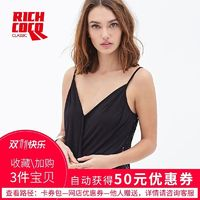 Oversized Sexy Seen Through Split Front Low Cut Lace Sleeveless Top Strappy Top Top - Bonny YZOZO Boutique Store
