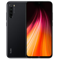 2Pcs Xiaomi Redmi Note 8 Global Version 6.3 inch 48MP Quad Rear Camera 4GB 64GB 4000mAh Snapdragon 665 Octa core 4G Smartphone Black