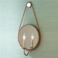 Iron Rope Sconce