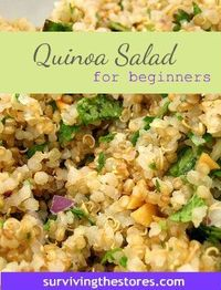 Quinoa is gluten free, low in fat, rich in riboflavin, and a high quality protein thus the nickname Supergrain. Many use it as part of a grain-free diet since i